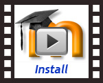 Install Movie - 'Digital University' Moodle Template Design